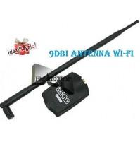 ADATTATORE WIRELESS USB WI-FI AMPLIFICATORE ANTENNA 9dBi 10G wifi 54Mbps mshop