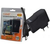 ALIMENTATORE CARICABATTERIE 10W 2A PLUG MICRO 5P TABLET PC TAB LINQ T-M15P mshop