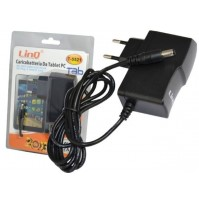 ALIMENTATORE CARICABATTERIE 10W PLUG 5.5x2.1mm X TABLET PC TAB LINQ T-5521 mshop