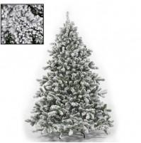 Albero di Natale Innevato Pino Tirolese super folto 180 210 230 270 300 cm mshop