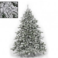 Albero di Natale Innevato cm 210 Pino Tirolese super folto realistico 2,10 mshop