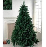 Albero di Natale artificiale super folto Pino verde 180 210 240 270 300 cm mshop