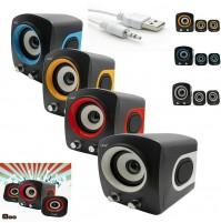 Altoparlanti Casse Speaker 2.1 Home Theatre Usb per PC Notebook LINQ Q25 mshop