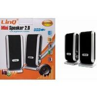 Altoparlanti Casse Speaker Stereo 2.0 Usb PC Notebook Audio LINQ LI-2030 mshop