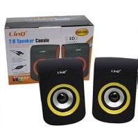 Altoparlanti Casse Speaker Stereo Usb Jack 3,5 per PC Notebook LINQ AN-009 mshop