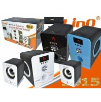 Altoparlanti Casse Stereo 2.1 Home Theatre Usb per PC Notebook LINQ Q62 mshop