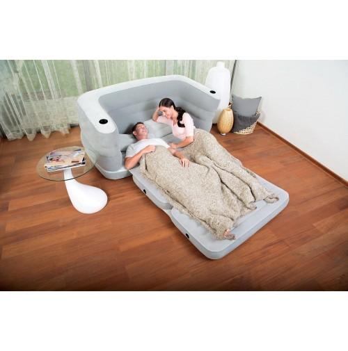 Bestway letto divano gonfiabile multi max ii sofa bed materasso 75063 mshop ebay - Divano letto ebay ...