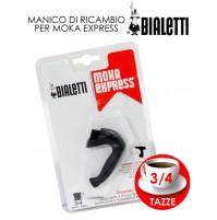 BIALETTI BLISTER MANICO PER MOKA 3/4 TZ RICAMBI ORIGINALI 0109522 mshop
