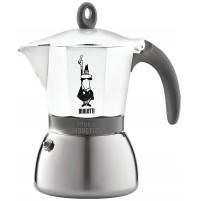 BIALETTI MOKA CAFFETTIERA INDUCTION 6 TAZZE CAFFÈ INDUZIONE BIANCO 0004933 msho