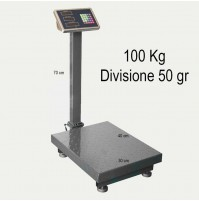 BILANCIA ELETTRONICA DA BANCO DIGITALE 100KG 50GR CON BRACCIO DISPLAY mshop