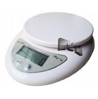 BILANCIA ELETTRONICA DA CUCINA DA 01 g A 5 kg WH-B05 PESA ALIMENTI DISPLAY mshop
