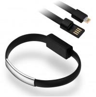 BRACCIALE BRACCIALETTO CAVO DATI CARICA USB PER IPHONE 5 5S 5C 6 6S PLUS mshop