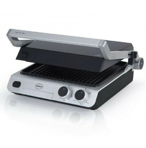 Bistecchiera elettrica RGV Industrial Grill Contact piastra antiaderente mshop