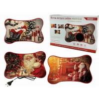 Borsa acqua calda elettrica scaldino natalizio babbo Natale 750991 regalo mshop