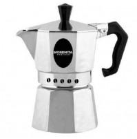 CAFFETTIERA MOKA MORENITA BY BIALETTI CAFFÈ CAFFE CLASSICA DA 6 TAZZE mshop