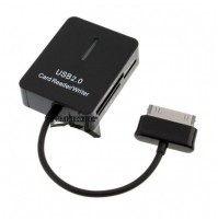 CARD READER WRITER USB 2.0 PER SAMSUNG GALAXY TAB 8.9 - 10.1 SD MICRO SD mshop