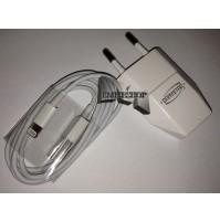 CARICABATTERIE CARICATORE CON CAVO USB IPHONE 5 5C 5S 6 6S 7 PLUS IPOD 5 7 mshop