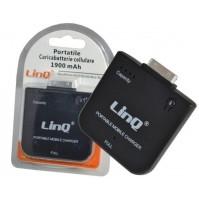 CARICABATTERIE PORTATILE 1900mAh IPHONE 3 3S 4 4S IPOD TOUCH LINQ DS-1900B mshop