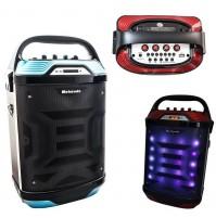 CASSA SPEAKER LED BLUETOOTH PORTATILE RICARICABILE RADIO USB MP3 MICRO SD mshop