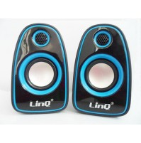 CASSE SPEAKER ALTOPARLANTI AUDIO STEREO USB 2.0 PC NOTEBOOK MP3 LINQ A3000 mshop