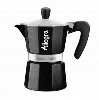 Caffettiera moka Allegra Aeternum 3 tazza tazze tz caffè coffee maker mshop