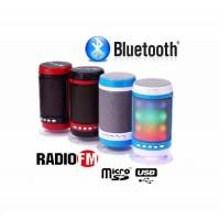 Cassa Speaker Altoparlante Portatile Bluetooth LED FM SD USB MP3 WS-1806 mshop