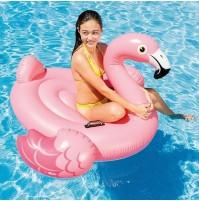 Cavalcabile Fenicottero gonfiabile Intex 57558 gioco piscina isola 142x137 mshop