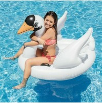 Cavalcabile cigno gonfiabile Intex 57557 bambini mare piscina materassino mshop