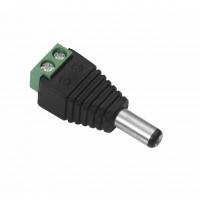 Connettore Uscita RCA Maschio BNC Adattatore a Vite Morsetto Cavo to-dc802 mshop