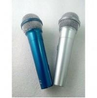 Coppia di Microfoni Dinamico con Filo Karaoke Conferenze TEKONE TE-119 mshop