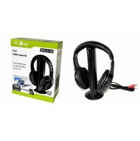 Cuffie Cuffia Wireless WiFi 5 in 1 senza fili per TV PC Hi-Fi Tek One S-99 mshop