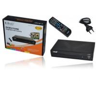 DECODER DIGITALE TERRESTRE DVB-T TV DOPPIA SCART REGISTRATORE LINQ LiT809V mshop