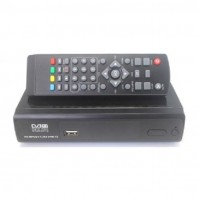DECODER MINI DVB-T2 DIGITALE TERRESTRE 3D FULL HD 1080P HDMI USB TV RCA mshop
