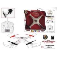 DRONE AIRFLY V6.0 360° CON VODEOCAMERA E MICROSD RADIOCOMANDATO 121446 mshop