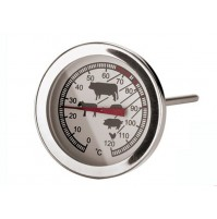 EVA TERMOMETRO PER CARNE GAMBO 130 MM ACCIAIO INOX DA 0 A 120° C mshop