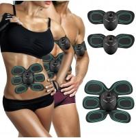 Elettrostimolatore muscolare farfalla trainer fascia addominali fitness mshop