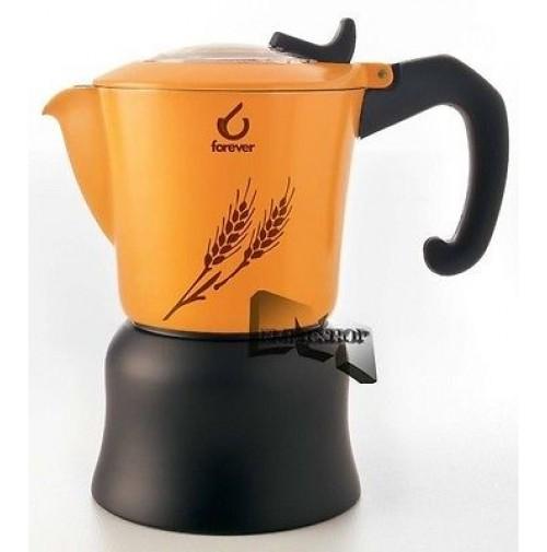 FOREVER ORZIERA MISS ORZì CAFFETTIERA CAFFè D'ORZO ORZO TAZZE 2 TZ CAFFE mshop