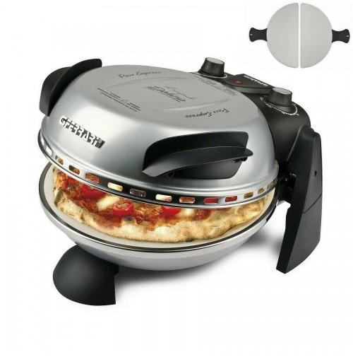Forno pizza G3Ferrari Delizia Evo pietra elettrico G10006 Silver nuovo mshop