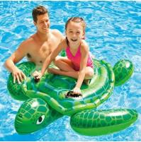 Gonfiabile galleggiante tartaruga Intex 57524 materassino mare piscina mshop