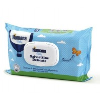 Humana Baby Care Salviettine Delicate Cambio Igiene Bambini 8 Conf. 72 pz mshop