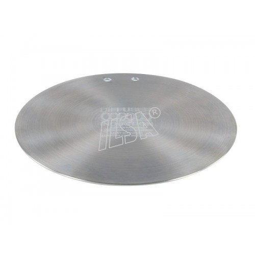 Diameter 21 cm Ilsa Induction Plate Stainless Steel Round
