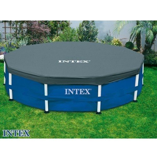 Intex copripiscina 28032 58901 telo copri piscina 457 - Copertura invernale piscina intex ...