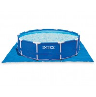 INTEX TELO BASE PISCINA PISCINE EASY FRAME TONDA 472 X 472 CM 58932 28048 mshop