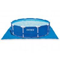 INTEX TELO BASE PISCINA PISCINE EASY FRAME TONDA 472 X 472 CM 58932 28048 mshop