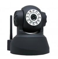 IP CAMERA TELECAMERA WIRELESS WIFI INFRAROSSI MOTORIZZATA IPHONE ANDROID mshop