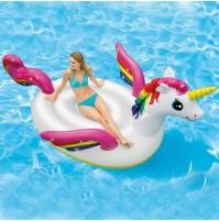 Isola gonfiabile galleggiante Unicorno gigante Intex 57281 mare piscina mshop
