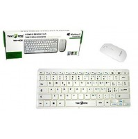 Kit Tastiera + Mouse Senza Filo Wireless 1000 dpi Layout ITA TekOne WK-002 mshop