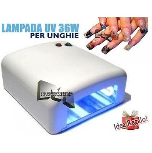 Lampada Uv Fornetto Per La Ricostruzione Unghie Manicure Pedicure