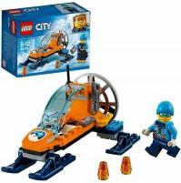 LEGO City Mini-Motoslitta Artica 60190 Veicolo Moto da Neve Ghiaccio 50 pz mshop