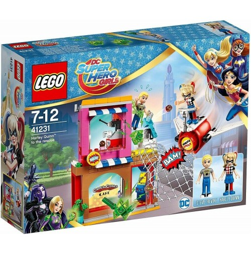 LEGO DC Super Hero Girls 41231 Harley Quinn al Salvataggio Rescue 217 pz mshop